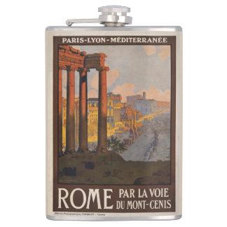 Cantil Poster de viagens 1920 no templo de Saturn, Roma