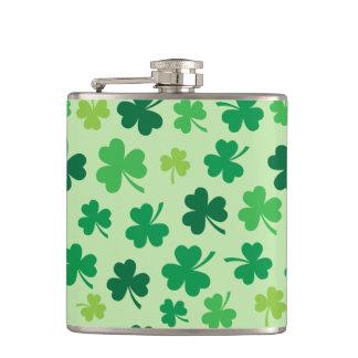 Cantil Presentes ancas do irlandês da garrafa | do trevo