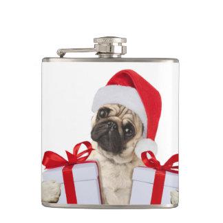 Cantil Presentes do Pug - cão claus - pugs engraçados -