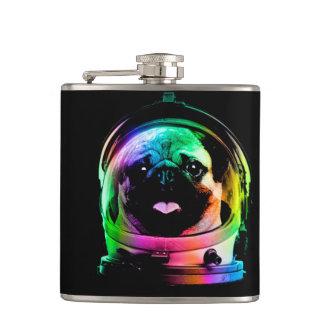 Cantil Pug do astronauta - pug da galáxia - espaço do pug