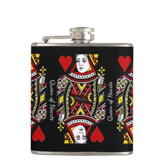Cantil Rainha da garrafa do design dos corações