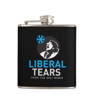 Cantil Rasgos envolvidos vinil do liberal da garrafa com