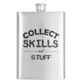 Cantil Recolha o material das habilidades não