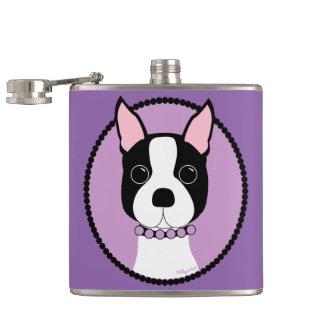 Cantil Roxo de Boston Terrier