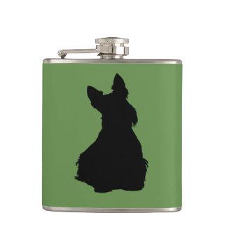 Cantil Scottish assento preto/branco de Terrier da