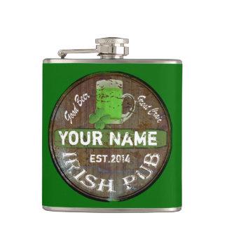 Cantil Sinal irlandês personalizado do bar