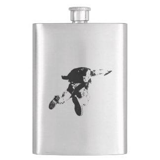 Cantil Skydiving preto & branco