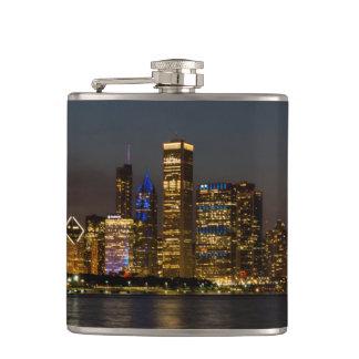 Cantil Skyline Chicago Pano da noite