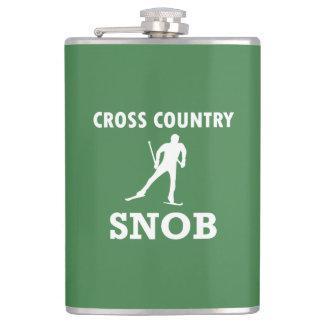 Cantil Snobe do esqui do país transversal (logotipo
