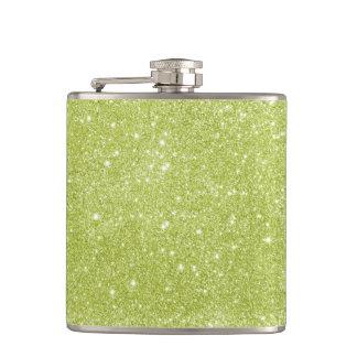 Cantil Sparkles do brilho do verde limão