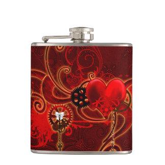 Cantil Steampunk, coração wunderful