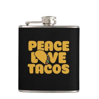 Cantil Tacos do amor da paz
