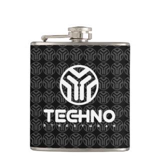 Cantil Techno Streetwear - logotipo - garrafa