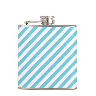 Cantil Teste padrão diagonal azul e branco das listras