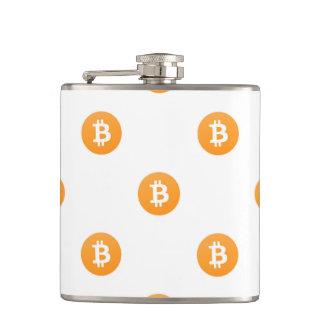 Cantil Teste padrão do logotipo de Bitcoin