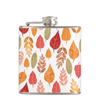 Cantil Teste padrão pintado das folhas de outono