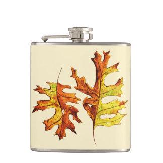 Cantil Tinta e folhas de outono de dança pintadas