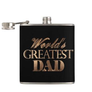 Cantil Tipografia preta elegante do ouro do grande pai do