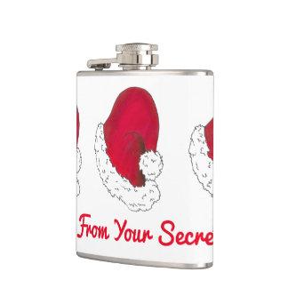 Cantil Um presente do Xmas vermelho secreto do Natal de