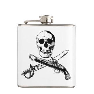 Cantil Uma vida skullflask_1 dos piratas