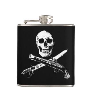Cantil Uma vida skullflask_2 dos piratas
