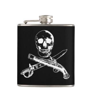 Cantil Uma vida skullflask_4 dos piratas