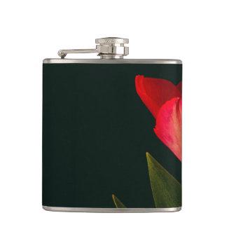 Cantil Única tulipa vermelha