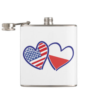 CANTIL USA-POLISH-FLAG-HEARTS