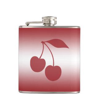 Cantil Vermelho de cereja ao inclinação branco