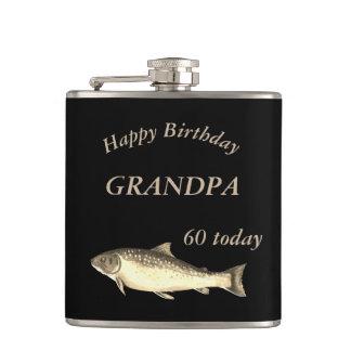 Cantil Vovô feliz personalizado do aniversário da truta