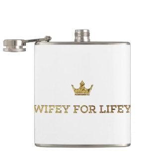 Cantil wifey da coroa do ouro para o lifey