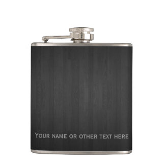 Cantil Woodgrain clássico com texto customizável