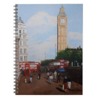 Canto de Londres Caderno Espiral