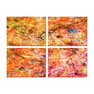 Canvas abstratas da galeria do Splatter da arte