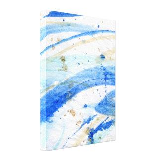 Canvas abstratas da textura do Watercolour dos Impressão Em Tela