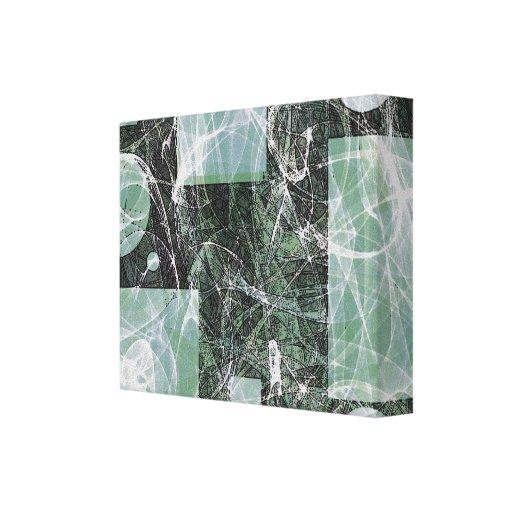 Canvas abstratas de Fu-Chu Impressão Em Tela