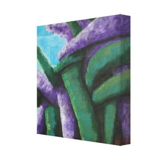 Canvas abstratas do Buddleia