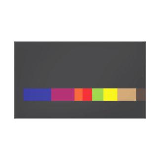 Canvas abstratas feias do design impressão em tela