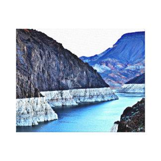 Canvas - barragem Hoover do thro do Rio Colorado