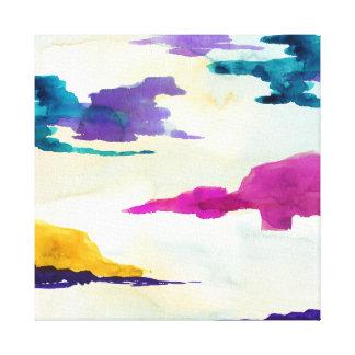 Canvas coloridas abstratas do Scottish do