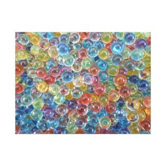 canvas coloridas da miçanga de vidro