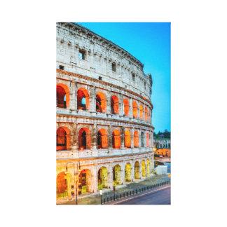 Canvas Colosseum Roma Italia