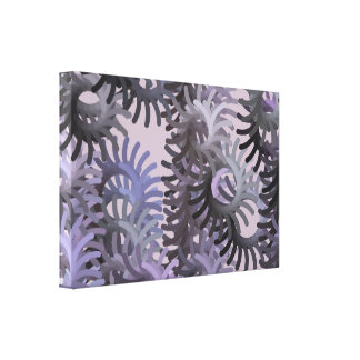 Canvas da alga impressão de canvas esticadas