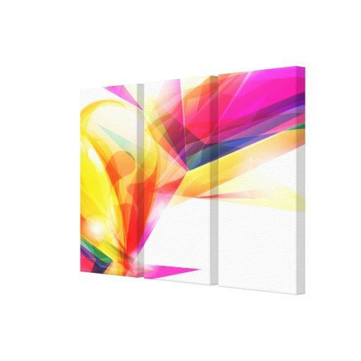 Canvas da arte abstracta 7 impressão em tela