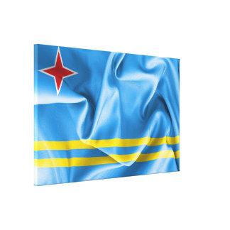 Canvas da bandeira de Aruba