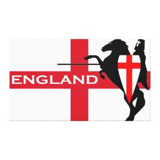 Canvas da bandeira de Inglaterra do dia de St Impressão Em Tela