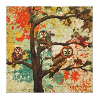 Canvas da copa de árvore da buzina impressão em tela