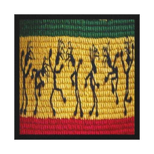 canvas da dança da reggae impressão em canvas