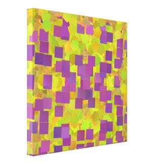 Canvas da dança quadrada impressão de canvas esticada