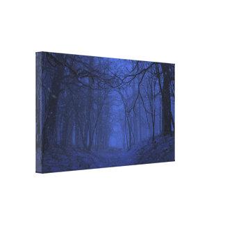 Canvas da elegia (inverno/noite) impressão em tela